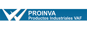 Logotipo Proinva Productos Industriales VAF